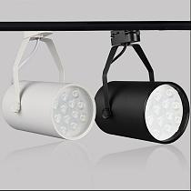 7W 12W 18W LED LED Track Lighting Spotlights COB Rail Lamp note: Do not include track store shop supermarket osvetleni Light