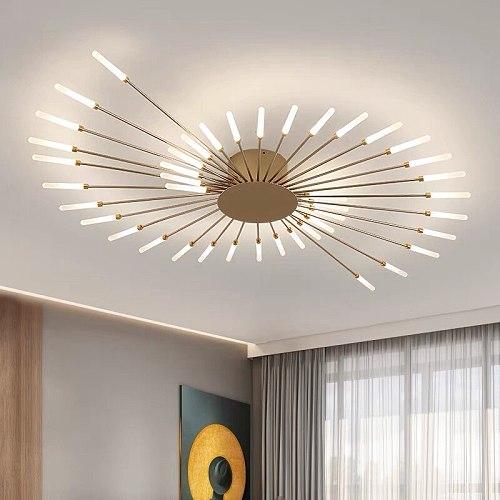 fireworks  led Chandelier For Living Room Bedroom Home chandelier Modern Led Ceiling Chandelier Lamp Lighting chandelier pendant