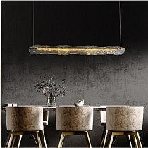 Modern Luxury Pendant Lighting  Creative LED Pendant Lights For Dinning Room/Kitchen Long Type Hanging Light Fixture For Villa