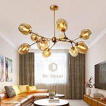 Nordic LED Chandelier Lighting for Dining Room Decoration Bedroom Living Room Chandelier Lamp Home Decor Hanging Lamp Lighting
