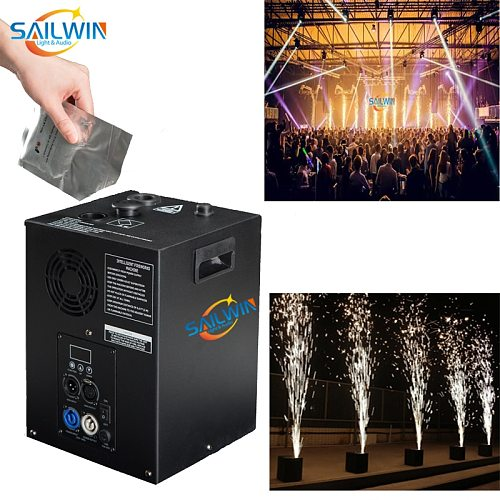 Poland Stock SW-S400 400W DMX512 Wireless Remote Cold Spark Machine For Wedding Club Party Stage Light Sparkular Effects