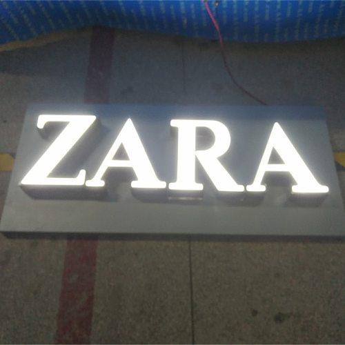 3D resin LED Letters Advertising light  Business Signs custom