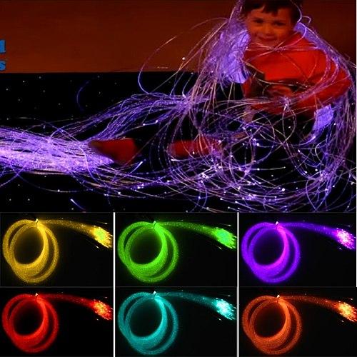 Safely multi color fiber optic sensory light for sensory integration therapy
