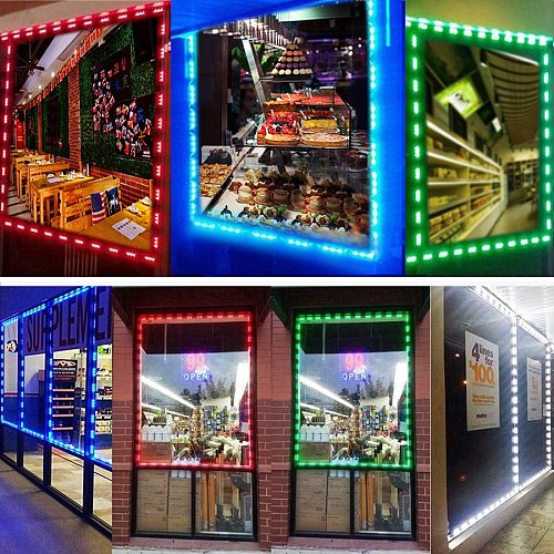 20PCS LED Modules Light 5050 SMD 3LED DC12V Waterproof Advertising Sign Backlight Modules Lights RGB Red Green Blue Warm White