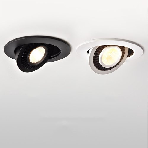 LED Ceiling Recessed Spot Light 15w 9w 7w 5w led bulb light 360 Degree Rotation Spot lighting for Kitchen Bedroom indoor lamp