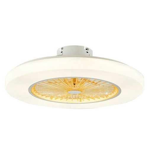 Modern Simple Ceiling Fans Lamp 220v/ 110v LED Dimming Ceiling Fans Lamp Invisible Leaves 58cm  Home Decoration Luminaire