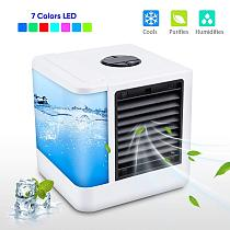 Mini Air Cooler Air Personal Space Cooler The Quick & Easy Way to Cool Any Space Air Conditioner Air Cooling Fan for Office Room