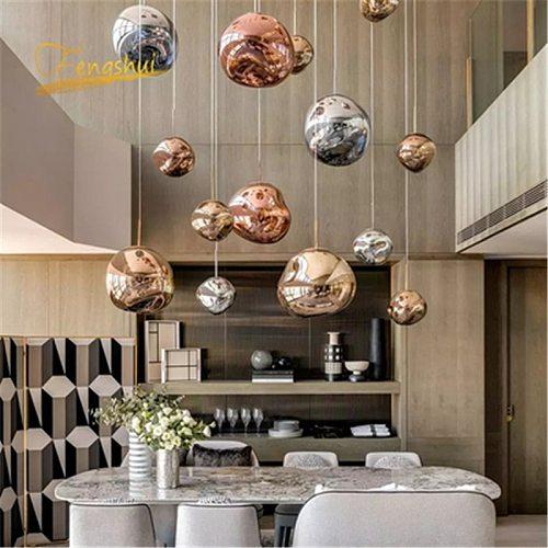 Nordic LED Pendant Lights for Living Room Loft LED Pendant Lamp Indoor Decor Pendant Lamp Kitchen Hanging Lamp Fixtures Lighting