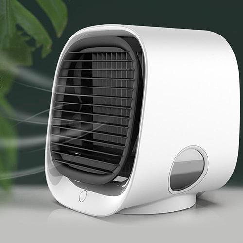 Air Cooler Fan USB Mini Portable Air Conditioner Fan Desktop Space Cooler Personal Air Cooling Fan For Room Office Dropshipping