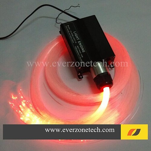 FY-1-003B LED Fiber Optic Star Ceiling Kit Light 300pcs 0.75mm *2m with RF Remote Control