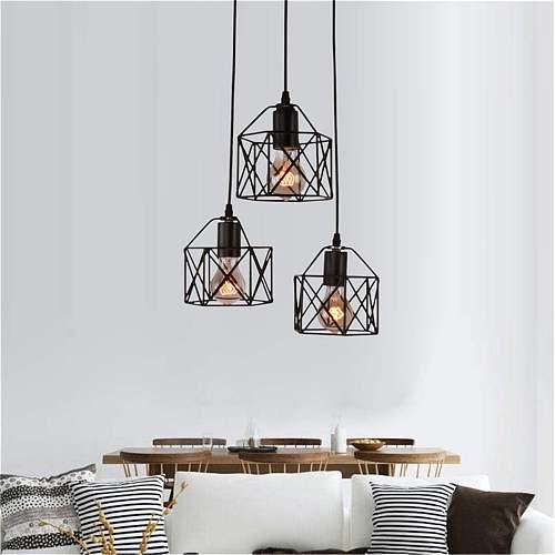 Modern Metal LED Rhombus light stylish tree branch chandelier lamp decorative Restaurant bar ceiling chandelies hanging Lighting