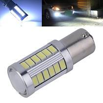 1Pcs White 1156 Led Bulb BA15S P21W 33 LED 5630 5730 SMD Car Tail Bulb Brake Lights Auto Reverse Lamp Ail Lights DRL Fog Lights