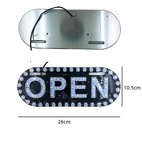 LED Advertising Light Advertising signboards LED board display LED open working for shop banner open LED light DC12V