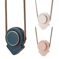 Portable Hanging Necklace Fan USB Charging Small Air Cooler Multipurpose Summer Cooling Tool for Home Office Outdoor
