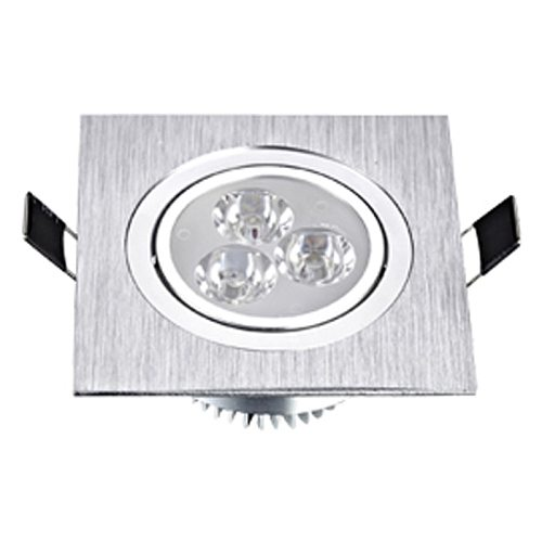 LED Square Down Lights 3W 5W 7W Recessed Dimmable Downlights 110V 220V Spot Indoor Ceiling Home Lighting