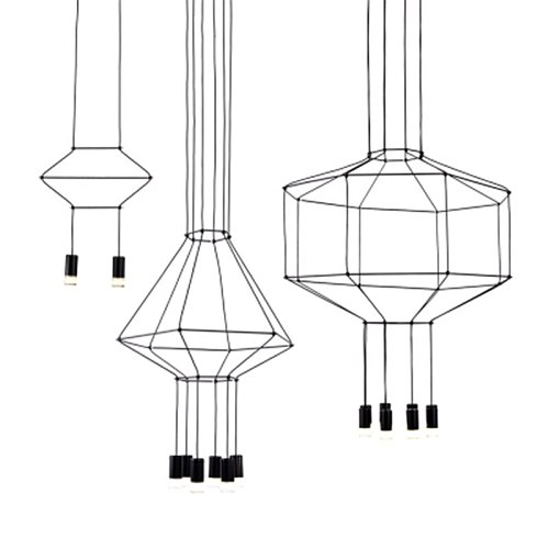 Designer Chandelier Lighting Modern for Living Dining Room Bedroom Nordic Wireflow Lobby Staircase Loft Kitchen Hanging Lamps