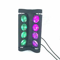 8x15W  Spider LED Moving Head  Light  4in1 RGBW  Strobe Party Light DJ Lighting Beam dj lights Stage