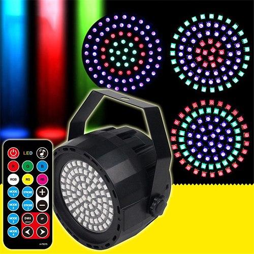 DC12V Disco Stage light 78 leds Strobe lighting DMX decoration Remote controller for Club,KTV,Bar,Party,Holiday