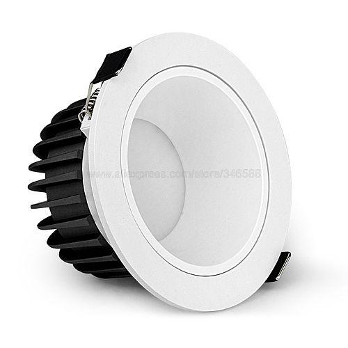 MiBoxer FUT071 12W Anti-glare RGBCCT Smart LED Downlight AC 110V 220V Support 2.4G RF Remote WiFi APP Alexa Google Voice Control