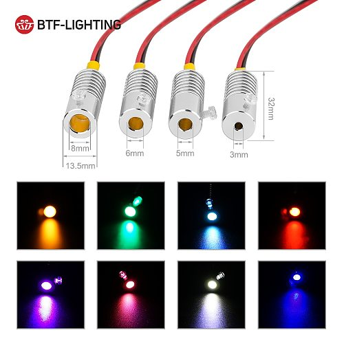 5m Fiber Optic Cable with DC12V 1W Led Light Source 7 Colors LED Emitter Bulb Use for Car Home Side Glow Mini Illuminator Lamp