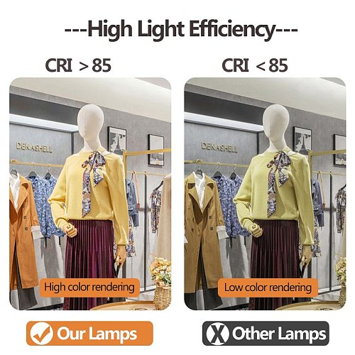 Led Track Lights 12W 20W 30W 40W 220V COB Track Lamp Rail Lamps Spotlight Clothing Store Lighting Fixture for Shop Home Kitchen