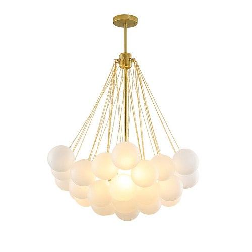 Modern LED Pendant lights Frosted Glass Ball Restaurant Pendant Lamp Designer Children's Room Hanging Lamp Classic Led Lighting