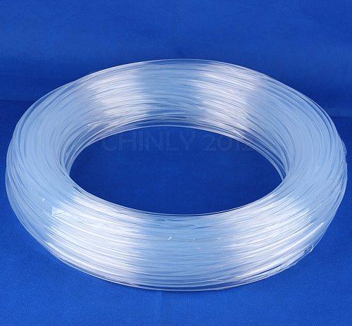 100meters 6.0mm side glow fiber optic lighting for car light home decoration