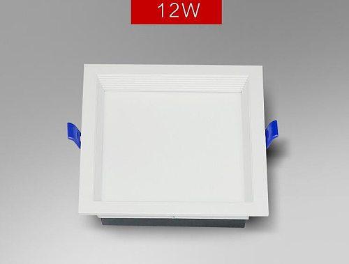 Led Panel  Recessed downlight 12W 18W 24w 32w Square LED Spot Light Ceiling Lamp AC110V 220V