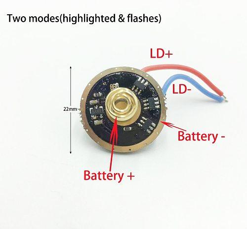 4.5A 3.7V NUBM08 NUBM49 NUBM0E NUBM44 Laser Diode Driver Doard (2 Modes)