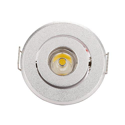 10pcs/lot Indoor outdoor 85-265v  white Mini ceiling LED spot light lamp 1W 3W mini LED downlights Hole size 40-45mm
