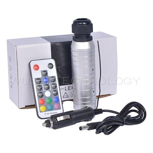 Mokungit 18 Keys RF Car use DC12V 6W RGB touch remote LED Fiber Optic Light Engine LED Controller