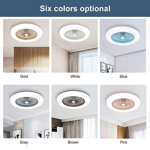 ceiling fan lamps 36W electric fan with remote control bedroom decorative ventilator lamp air cool ventilator modern lights