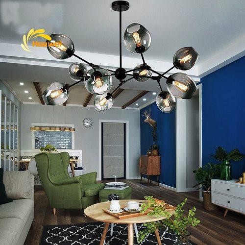 Nordic LED Chandeliers Lighting for Dining Room Living Room Decoration Hanging Lamp Bedroom Home Indoor Ceiling Chandelier Lamp