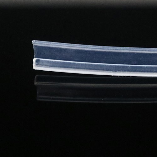 New Super Bright 3mm Plastic Side Glow optical Fiber with Flat Side Wing For Car lighting