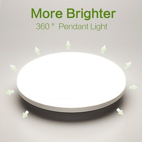 LED Ceiling Lamp Chandelier For Living Room Decoration Motion Sensor 220V 110V Panel Lights For Bedroom Kitchen Lighting