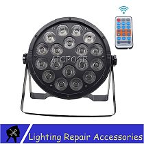 18X12W RGBW 4in1 LED PAR Light Remote Control Disco Light DMX512 LED Wall Wash Light Stage Professional DJ Disco quipment