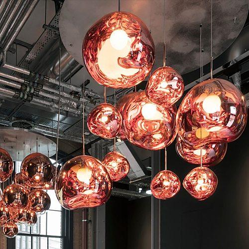 Nordic Lava LED Pendant Lights Modern Creative Living Room Hanging Lamp Kitchen Bedroom Lustre indoor Light Fixtures Luminaire