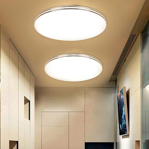 Ultra Thin LED Ceiling Lamp LED Modern Panel Light 72W 36W 24W 18W 12W 220V Bedroom Kitchen Surface Mount Flush Panel Light