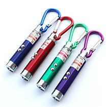 3 in 1 Mini LED FlashLight ultraviolet light With Keychain For Outdoor Aluminium Alloy Portable touchlights laser pointer