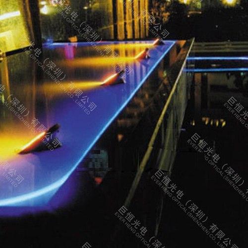 New Sale Car lighting Blue Color Soft 5mm Side Light Plastic Optic Fiber