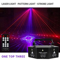 Home Party KTV Decoration Supplies Products Multifunctional Sound Activated Disco Party Lights RGB LED Stage Lights