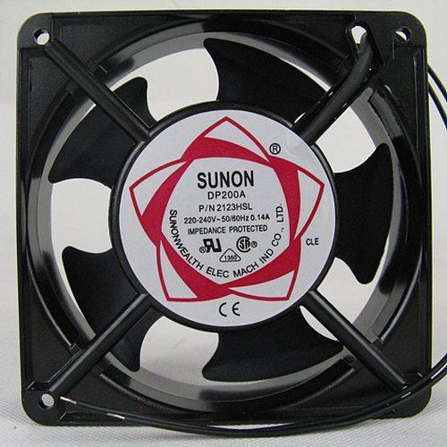 DP200A 2123HSL 120x120x38 mm SUNON cooling 220/240V 0.14A Axial AC FAN