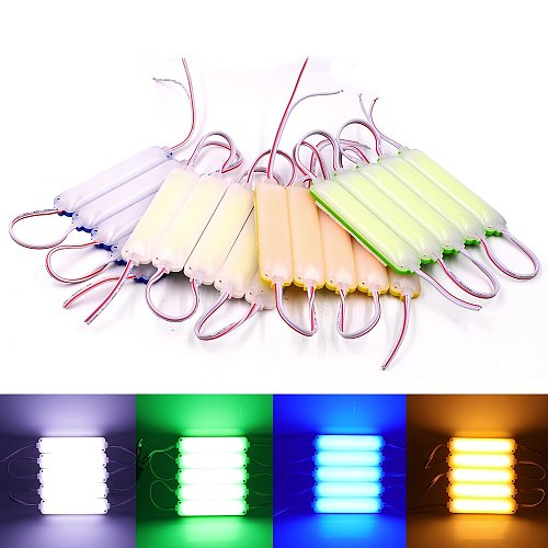 20Pcs High Bright COB LED Module Light DC12V DC24V 3W IP67 Waterproof for Outdoor Advertising Sign Lamp Backlight Module Lamp