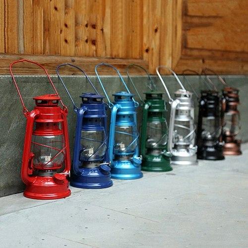 25cm  Retro Kerosene LanternsSly Lights Vintage Kerosene Lamp Leakproof Seal High Quality Does Not Rust Outdoor Camping Lights