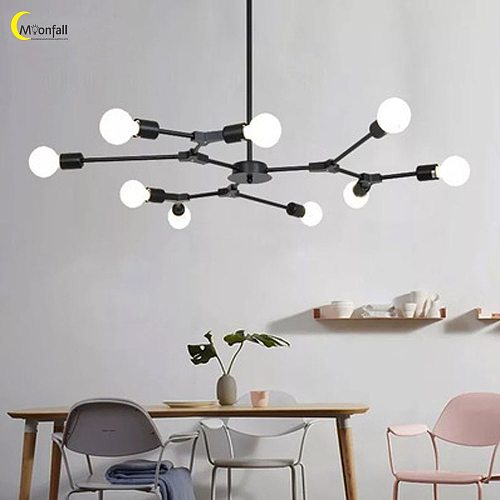 Cmoonfall Luces Led Para Habitacion Lustre Lights Decoration Home Lamp Ceiling Chandeliers Nordic Living Rroom Indoor Lighting