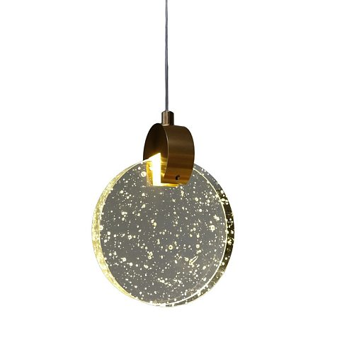 Modern Crystal pendant lamp Creative Single head hanging pendant light for Bar Kitchen Dining Room with led indoor lighting