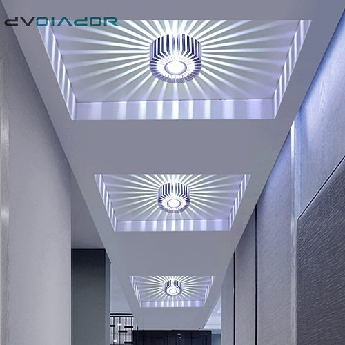 Led Downlight  Recessed Spot Led Ceiling Lamp Surface Mounted Colorful Spot Light For Living Room Corridor Bar KTV Party