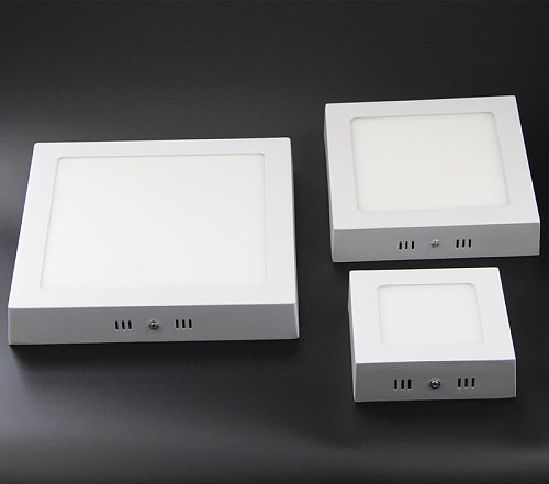 6W 12W 18W  Square thin wall Surface Mount Ceiling led Light lamp SMD 2835 downlight fashion brief,110v-220v + LED Drive