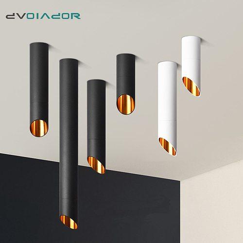 LED Surface Mounted Downlight 7W Ceiling lamps Kitchen Bedroom Pipe Tube LED Lamp 220V 110V Indoor LED Spot Lighting