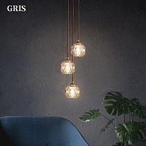 Modern Crystal Chandelier Atmosphere Pendant Light Luxury Small Living Room Warm Bedroom Room Bedside Lamps Home Decoration